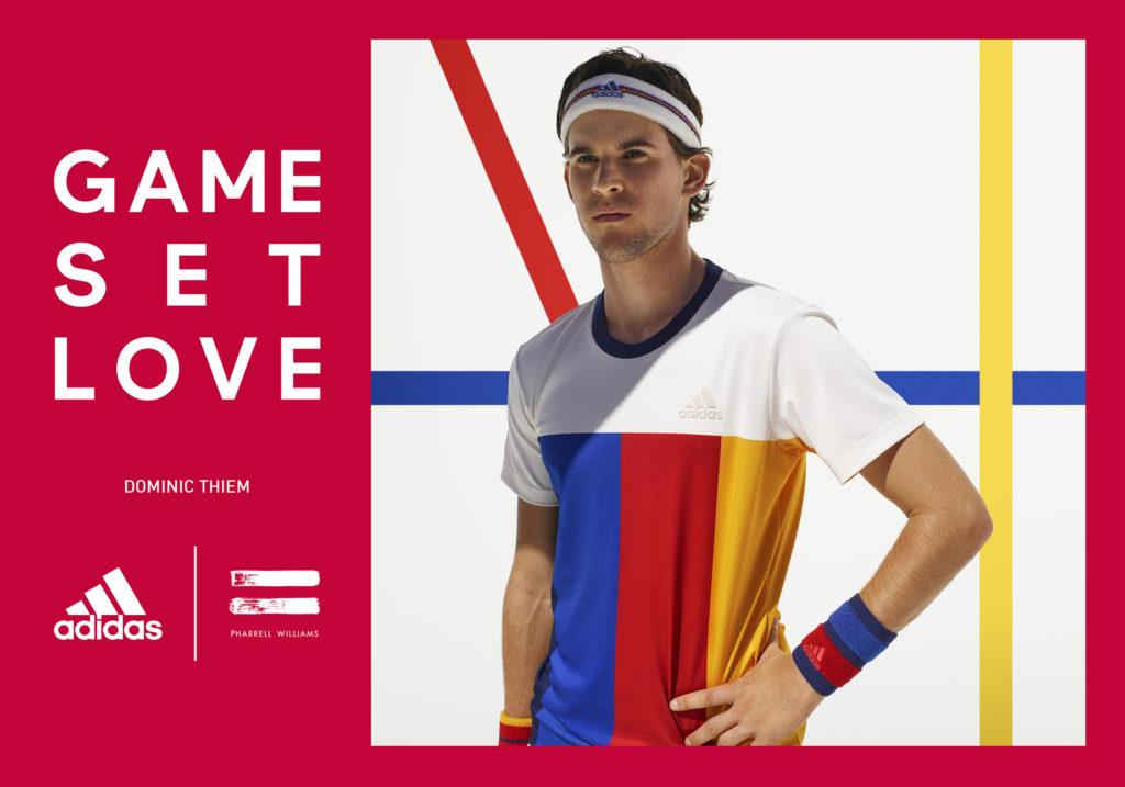 adidas by Pharrell Williams – noua colecţie de echipamente de tenis dedicată US Open 2017