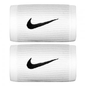 Nike-Mansete Dri-Fit Reveal Doubelwide Alb
