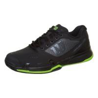 Wilson - Rush Pro 2.5 Clay Exclusive Incaltaminte Tenis Barbati Negru/Argintiu/Verde neon