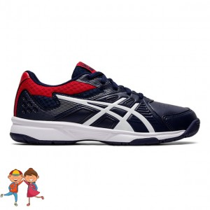 Asics - Court Slide All Court Jr. Incaltaminte Tenis Unisex Copii Bleumarin/Rosu/Alb