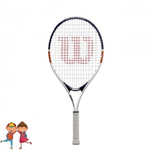 Wilson - Roland Garros Elite 25 (2020) Racheta Tenis Copii Alb/Albastu Inchis/Maro