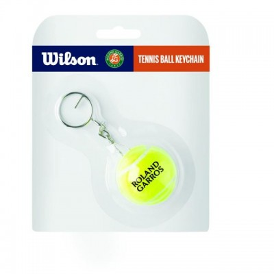 Wilson - Roland Garros Breloc Minge Tenis Galben