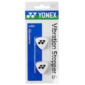 Yonex - AC165EX Dampener Set 2 Buc. Antivibratoare Rachete Tenis Alb/Negru