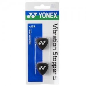 Yonex - AC165EX Dampener Set 2 Buc. Antivibratoare Rachete Tenis Negru/Alb