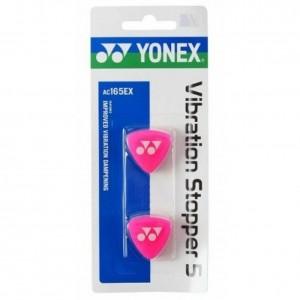 Yonex - AC165EX Dampener Set 2 Buc. Antivibratoare Rachete Tenis Roz/Alb