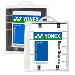 Yonex - Super Grap Set 12 Buc Overgrip Alb