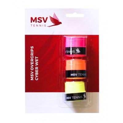 MSV - Cyber Wet Set 3 Buc Overgrip Multicolor