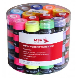 MSV Cyber Wet 60 Overgripuri Colorate
