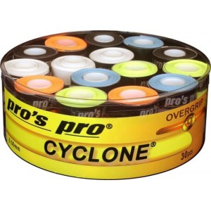 Pro's Pro - Cyclone Overgrip Standard Cutie 30 Buc Multicolor