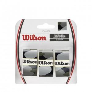 Wilson-Set 3 Overgripuri Camo Negru