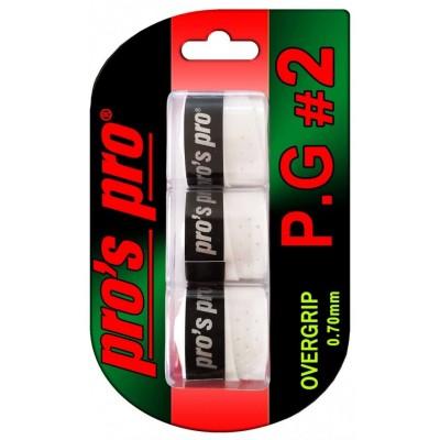 Pros Pro Set 3 Overgripuri Perforate Albe PG 2