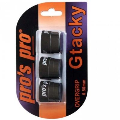 Pros Pro Set 3 Overgripuri Negre GTacky