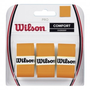 Wilson - Burn Pro Overgrip Set 3 Buc. Portocaliu