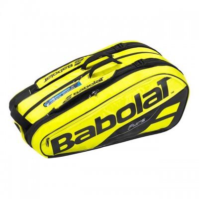 Babolat - Pure Aero 2018 Geanta Tenis X9 Rachete Galben/Negru