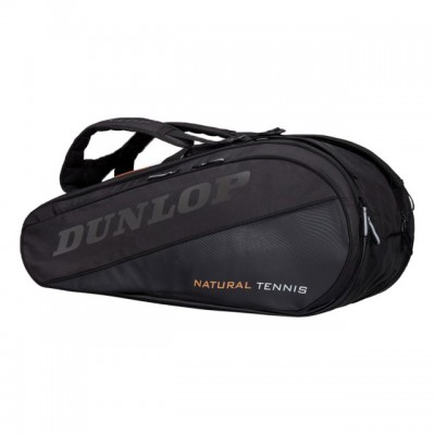 Dunlop - Revolution NT Geanta Tenis 12 Rachete Negru/Alb/Portocaliu