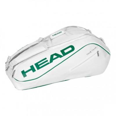 Head-Geanta Tenis Tour Team Wimbledon 12R Alb/Verde