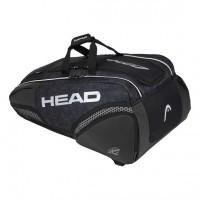 HEAD - Djokovic 12R Monstercombi 2020 Geanta Tenis 12 Rachete Negru/Alb/Gri