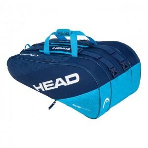HEAD - Elite 12R Monstercombi Geanta Tenis 12 Rachete Albastru inchis/Albastru deschis/Alb