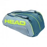 HEAD - Extreme Tour Team 2020 12R Monstercombi Geanta Tenis 12 Rachete Gri/Gri deschis/Galben