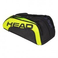 HEAD - Extreme Tour Team 2020 12R Monstercombi Geanta Tenis 12 Rachete Negru/Galben/Violet