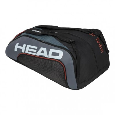 HEAD - Tour Team 2020 15R Megacombi Geanta Tenis 15 Rachete Negru/Gri/Alb/Portocaliu