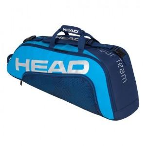 HEAD - Tour Team 2020 6R Combi Geanta Tenis 6 Rachete Bleumarin/Albastru deschis/Argintiu