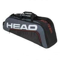 HEAD - Tour Team 2020 6R Combi Geanta Tenis 6 Rachete Negru/Gri/Alb/Portocaliu
