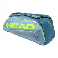 HEAD - Extreme Tour Team 2020 9R Supercombi Geanta Tenis 9 Rachete Gri/Gri deschis/Galben