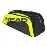 HEAD - Extreme Tour Team 2020 9R Supercombi Geanta Tenis 12 Rachete Negru/Galben/Violet