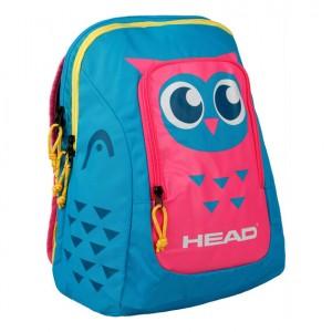 HEAD - Kids Backpack Rucsac Tenis Copii Albastru deschis/Roz/Galben/Argintiu