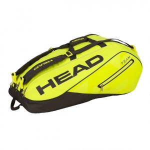 Head-Geanta Tenis Team 12R Monstercombi Galben