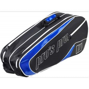Pro's Pro - Geanta Tenis 8 Rachete Negru/Albastru
