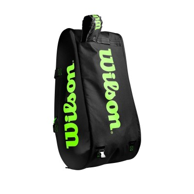 Wilson - Blade Super Tour Geanta Tenis 15 Rachete Negru/Verde