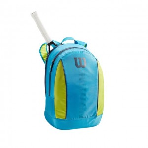 Wilson - Kids Rucsac Junior Unisex Albastru deschis/Verde lime/Bleumarin