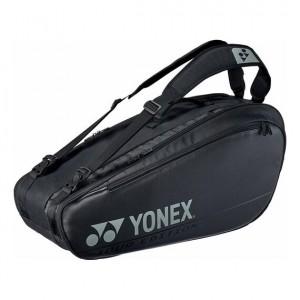 Yonex - Pro Geanta Tenis X6 Rachete (2020) Negru/Argintiu