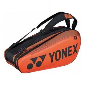 Yonex - Pro Geanta Tenis X6 Rachete (2020) Portocaliu/Negru