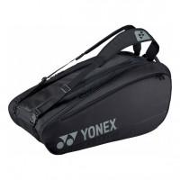 Yonex - Pro Geanta Tenis X9 Rachete (2020) Negru/Argintiu