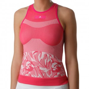 adidas - by Stella McCartney Seamless Tank Top Tenis Femei Roz/Alb