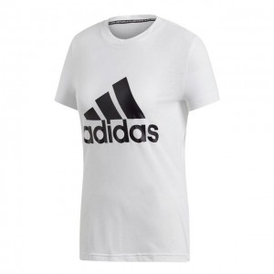 adidas - Must Haves Badge Of Sport Tee Tricou Tenis Femei Alb/Negru