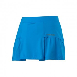HEAD - CLUB BASIC SKIRT FUSTA TENIS FETE ALBASTRU/GRI