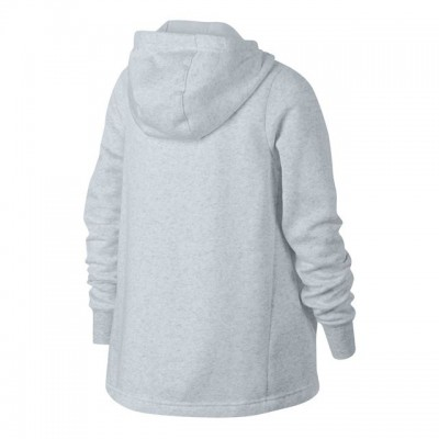 Nike - Sportswear Full-Zip Training Hanorac Fete Gri deschis/Alb