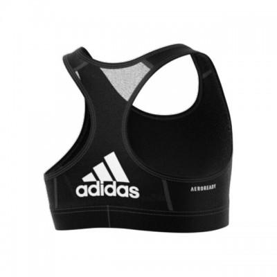 adidas - AlphaSkin Bra Bustiera Sport Fete (Copii) Negru/Alb