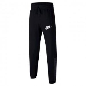 Nike - Sportswear Pantaloni Trening Baieti Negru/Alb
