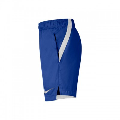 Nike - Woven 6 Inch Short Tenis Baieti (Copii) Albastru/Alb