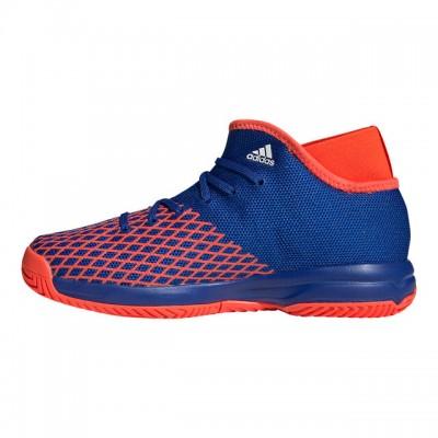 adidas - Phenom Junior All Court Incaltaminte Tenis Unisex Copii Albastru/Rosu solar