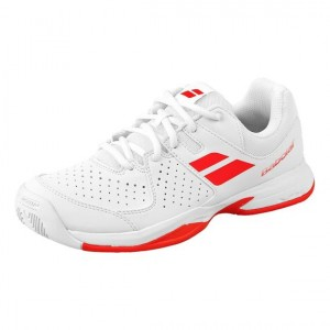 Babolat - Propulse All Court Incaltaminte Tenis Copii Alb/Rosu