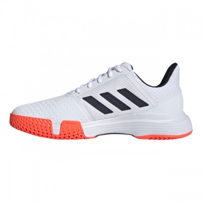adidas - Court Jam Bounce All Court Incaltaminte Tenis Barbati Alb/Bleumarin/Coral
