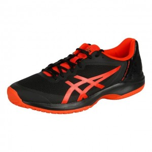 Asics - Gel-Court Speed All Court Incaltaminte Tenis Barbati Negru/Portocaliu