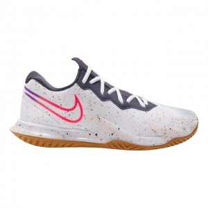 Nike - Air Zoom Vapor Cage 4 All Court Incaltaminte Tenis Barbati Alb/Bleumarin/Roz/Multicolor