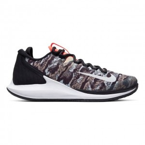 Nike - Air Zoom Zero HC All Court Incaltaminte Tenis Barbati Imprimeu Sarpe/Negru/Alb/Multicolor